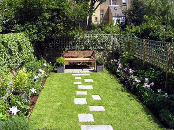 Jardines peque os - Como disenar un jardin grande ...