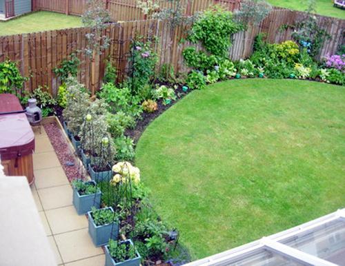 Jardines peque os - Como disenar un jardin exterior ...