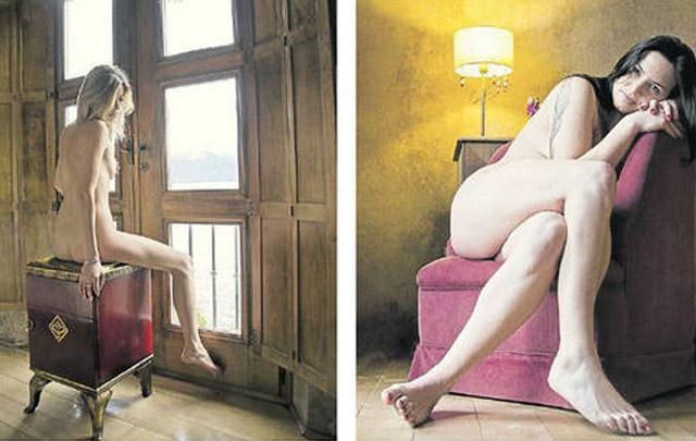 Fotos de mujeres desnudas para hacer calendarios 54