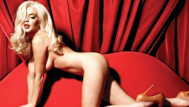 Lindsay Lohan desnudo Marlin Monroe