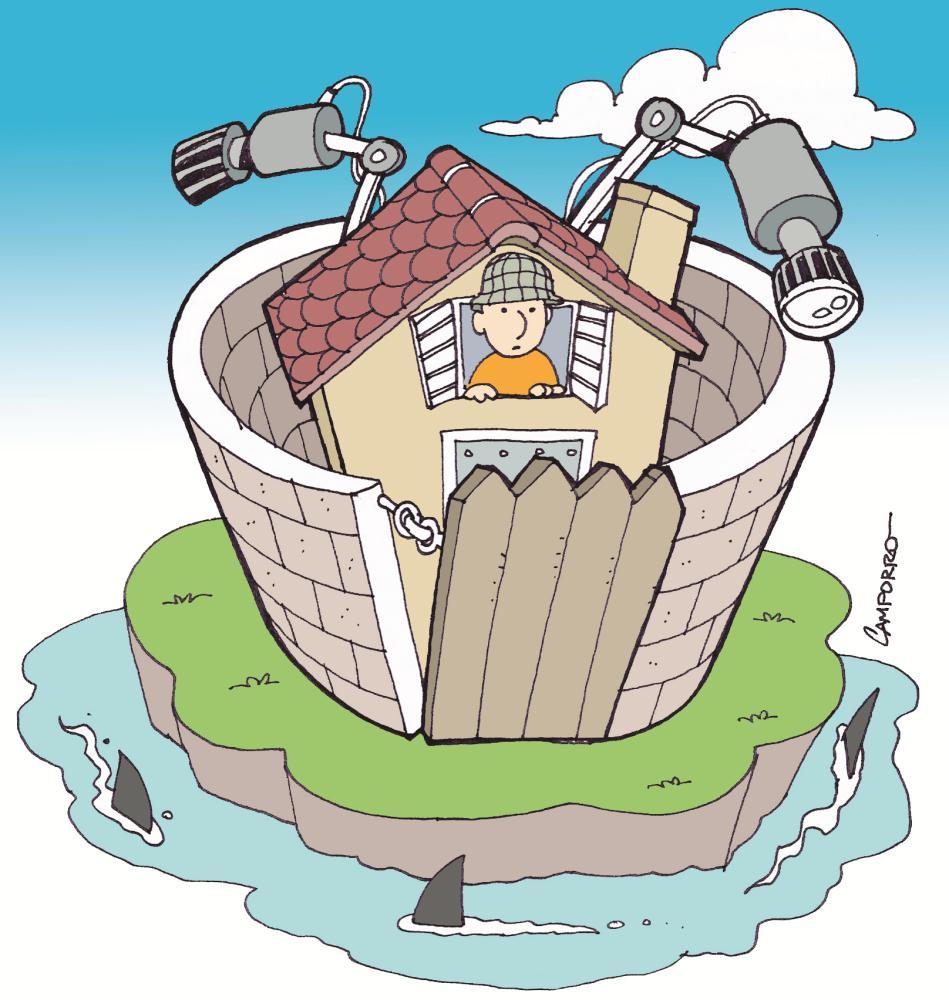 Cu nto cuesta tener una casa segura for Cuanto cuesta contratar una alarma
