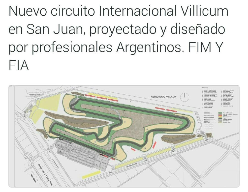 Circuito Villicum : Mirá como quedó el circuito del villicum diariolaventana